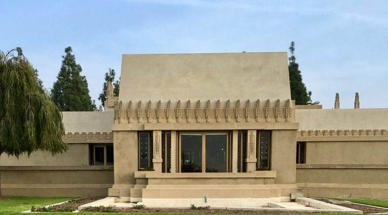 Frank Lloyd Wright's Hollyhock House, inscribed as a UNESCO site in 2019