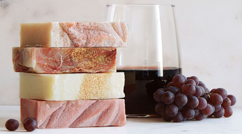 Wine-Inspired Soaps