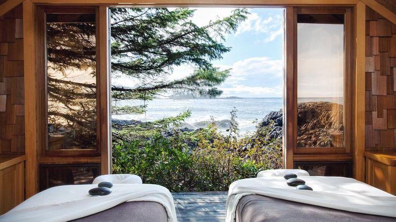The spa at Wickanninish Inn in Tofino, B.C.