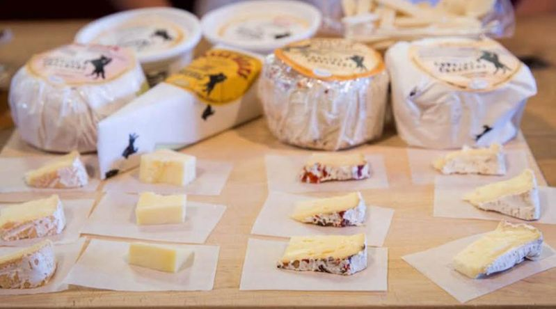 Follow the Marin County Cheese Trail
