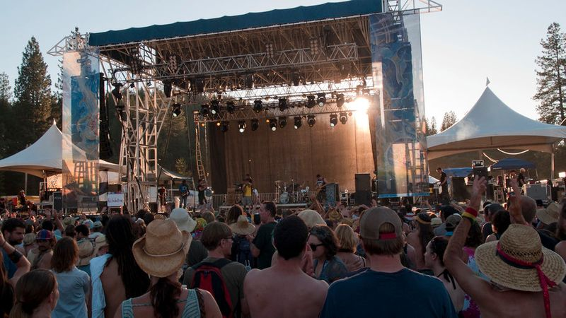 High Sierra Music Festival, Quincy, CA, Jul 4-7
