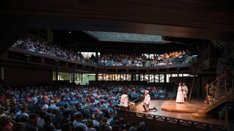 Utah Shakespeare Festival, Cedar City, UT, Jun 27–Oct 12