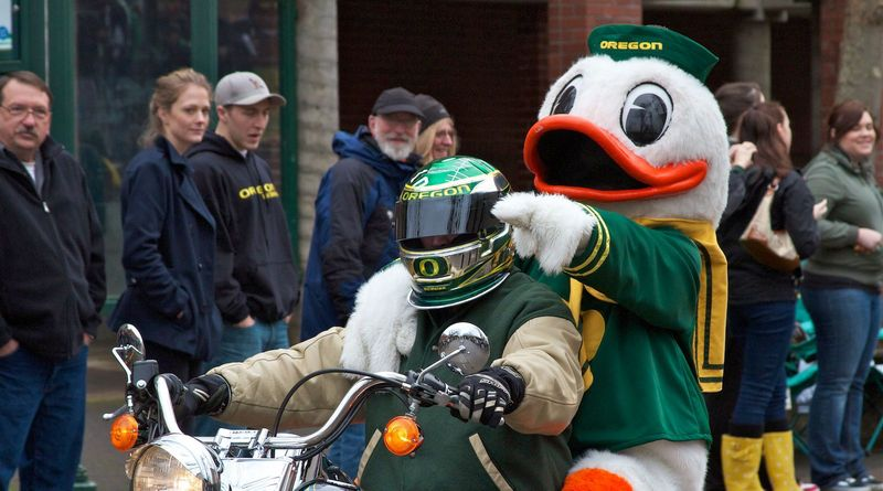 Sports Mascot: The Oregon Duck, University of Oregon (Eugene, OR)