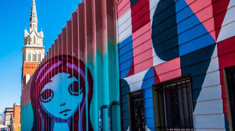Street art in Rino, Denver