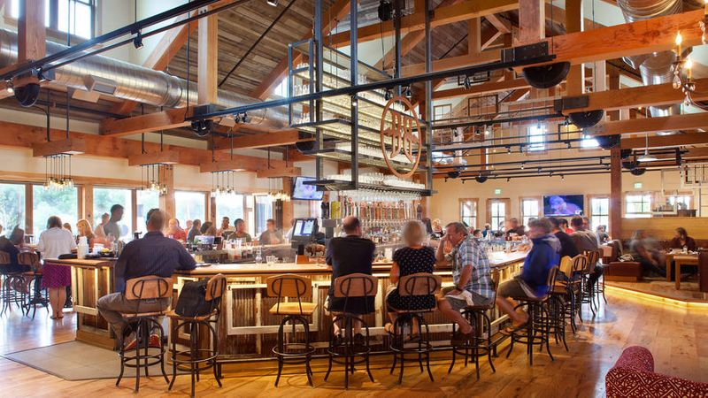 Inside Breckenridge Brewery