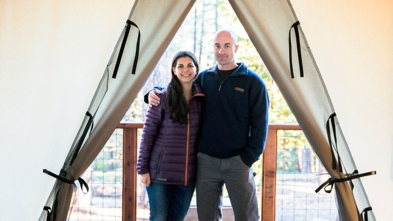 Couple owns the Inn Town Campground in Nevada City, California