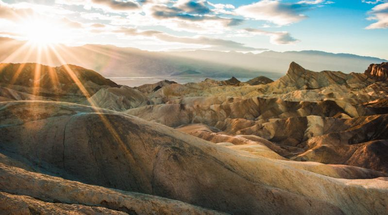 Other-Worldly Landscapes in Death Valley National Park, CA and NV