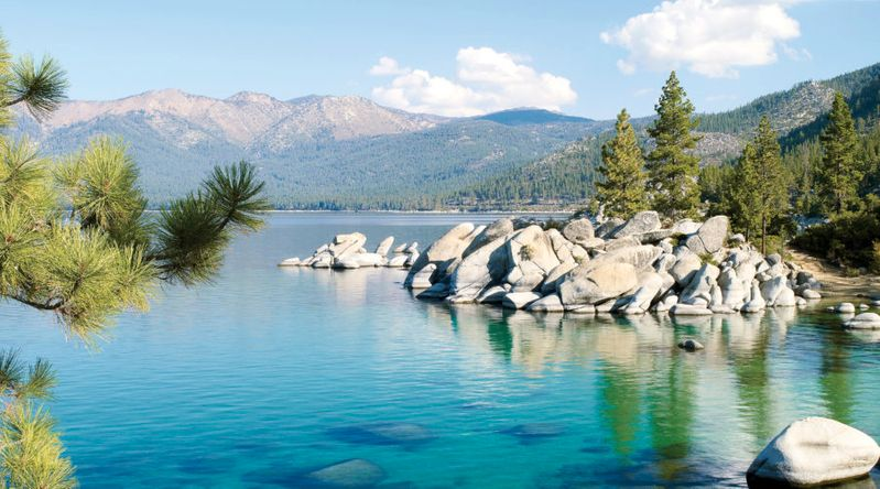 Retreat to the Mountains in Tahoe, CA & NV