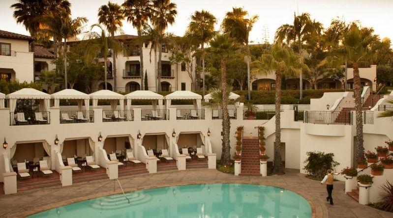 The pool at The Ritz-Carlton Santa Barbara