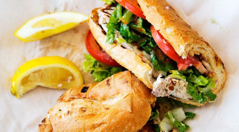 Perfect Fish Sandwiches, Newport Beach