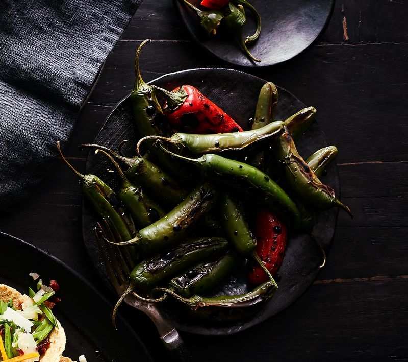 Chiles Toreados (Blistered Chiles)