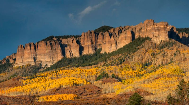 Best fall color in Colorado The San Juan Mountains' Ridgway