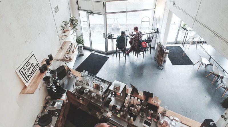Slate Coffee, Seattle, WA