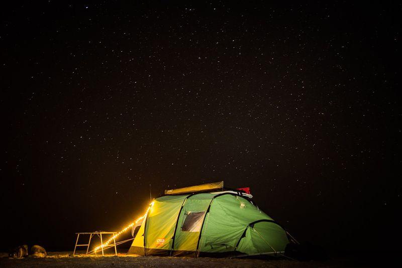 Crua Tri 3-Person Insulated Glamping Tent