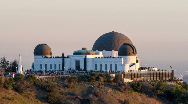 See (Literal) Stars at Griffith Observatory, Los Angeles
