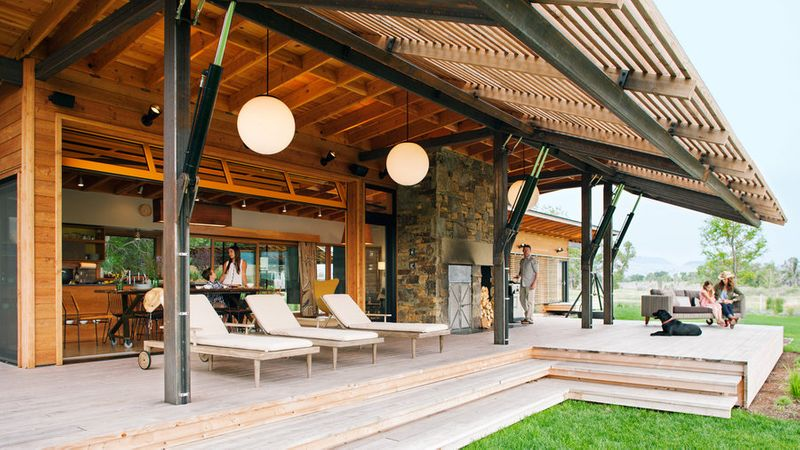 Our Favorite Prefab Homes - Sunset Magazine on open modern house interior, open ranch house plans, open ranch home,