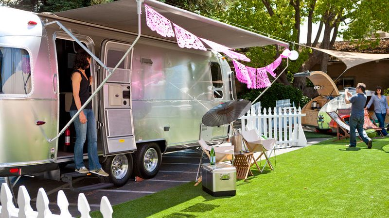 Glamping in Deluxe Camping Trailers - Sunset Magazine