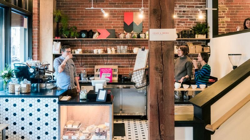 Inside Slow by Slow Coffee in Boise, Idaho