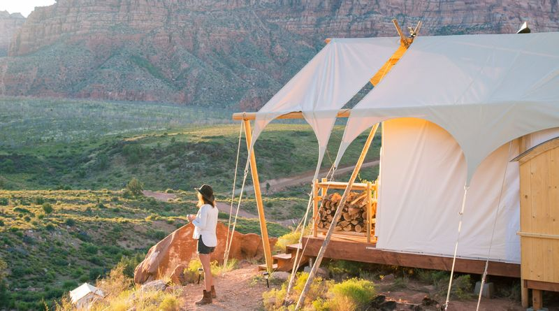 Glamping in a National Park