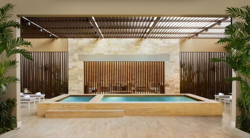 Spas Are Easy on the Eyes and the Mind