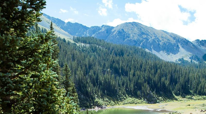 Hiking to Williams Lake, one of the best hikes in Taos, NM