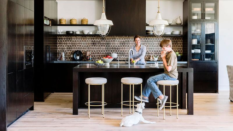 Chic Kitchen Bar Stools to Punch up Your Space - Sunset Magazine on kitchen tables ideas, kitchen buffet ideas, kitchen towel rack ideas, island stool ideas, kitchen bar light ideas, kitchen mirror ideas, rustic kitchen bar ideas, kitchen wood ideas, kitchen furniture ideas, kitchen counter table top, kitchen bookcase ideas, kitchen bar stools and tables, kitchen seat ideas, kitchen bar rack ideas, kitchen dining ideas, kitchen couch ideas, kitchen with bar ideas, kitchen chair ideas, kitchen bar stools cheap, kitchen bar stools with arms,