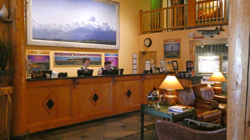 Pike's Waterfront Lodge, Fairbanks, AK