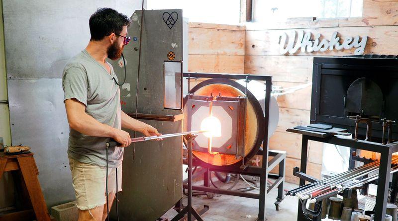 Robbie Frankel of Balefire Glass, Portland