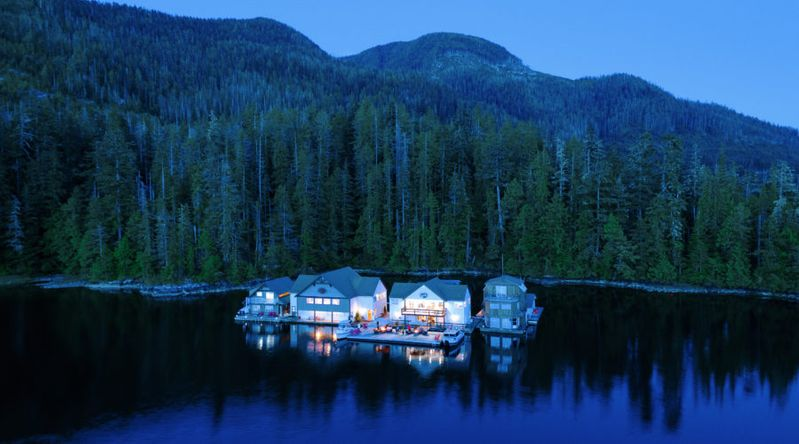 Nootka Wilderness Lodge, Vancouver Island, B.C.