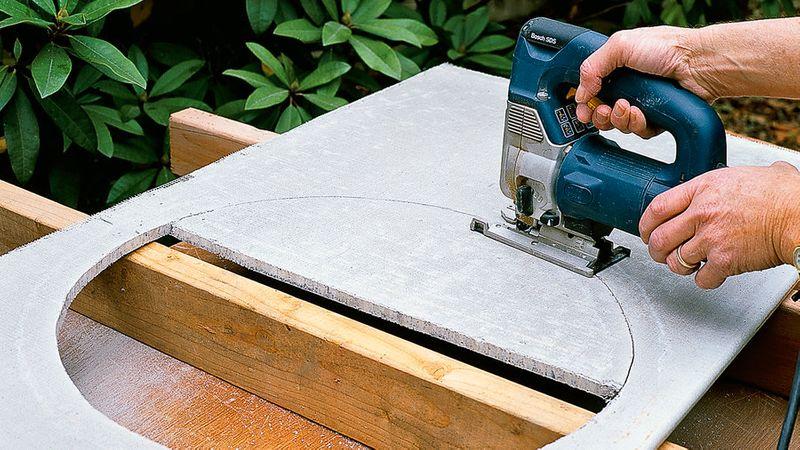 How to Make Concrete Countertops - Sunset Magazine