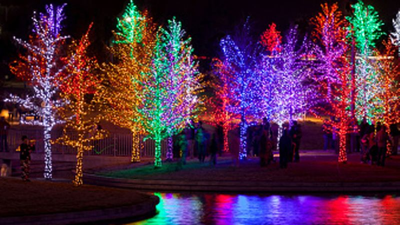 Dazzling Christmas Lights Sunset Magazine