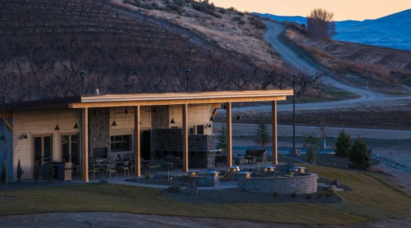 Sawtooth Winery in one of Idaho's secret wine countries, Snake River