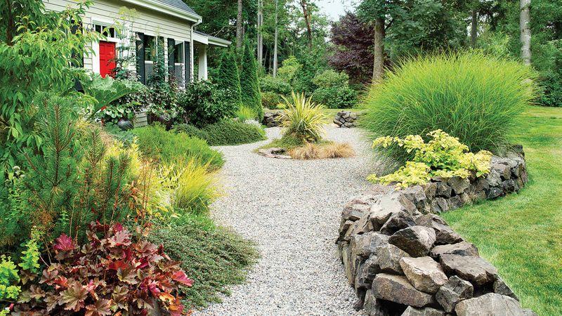 Low Maintenance Front Yard Landscaping Curb Appeal Sidewalks
