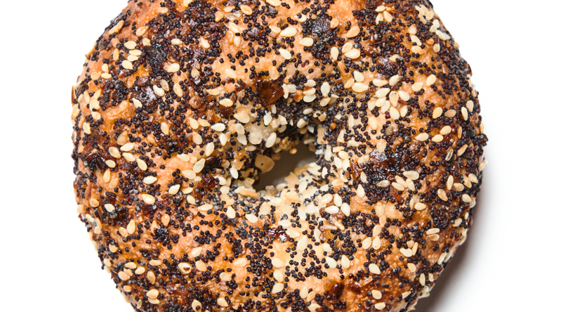 Daily Driver's Wood-Fired Everything Bagel