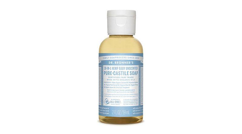 Dr. Bronner's 18-in-1 soap