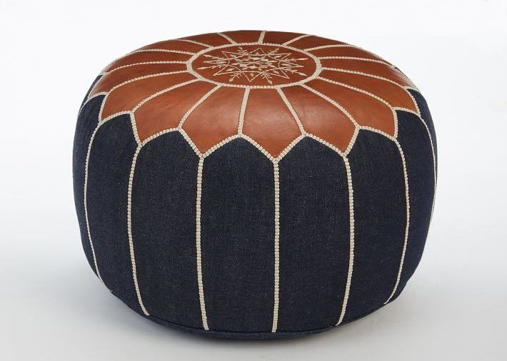 Fine Stylish Moroccan Pouf Pieces For A Modern Meets Boho Vibe Uwap Interior Chair Design Uwaporg