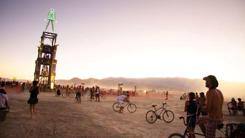 Burning Man, Black Rock Desert, NV, Aug 25 – Sep 2
