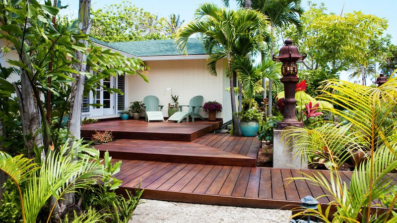 Deck Ideas: 40 Ways to Design a Great Backyard Deck or Patio ... on ranch entrance designs, ranch roof designs, ranch landscaping designs, ranch master bathroom designs, ranch fence designs,