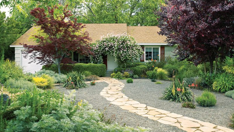 Landscaping without Grass - Sunset Magazine