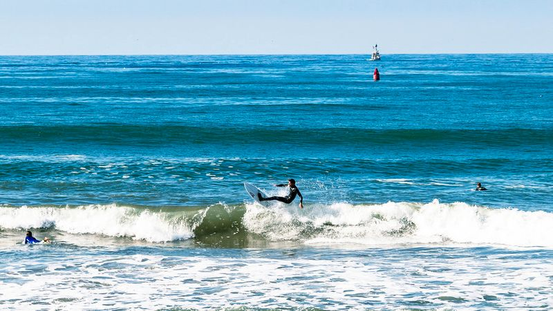 People surfing in Ventura, California