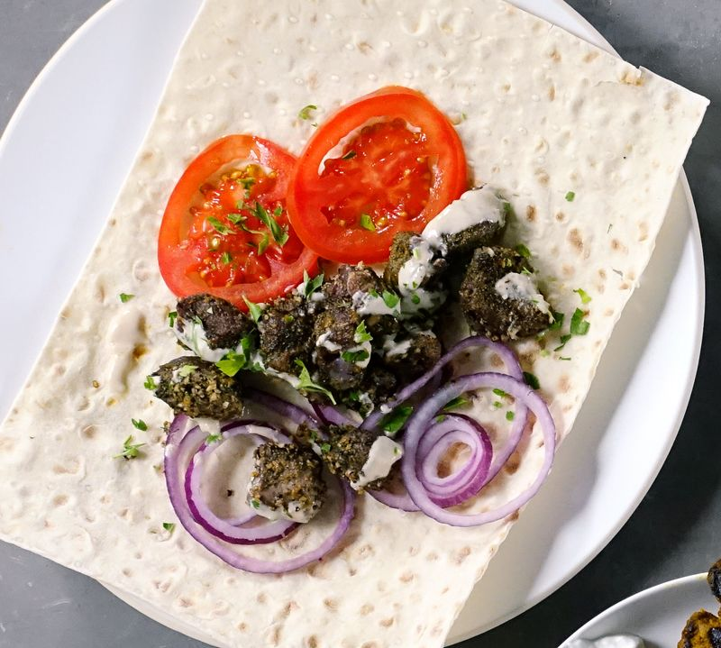 Mediterranean Lamb Kebabs