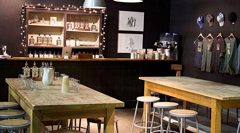 Hamilton Distillers Tasting Room