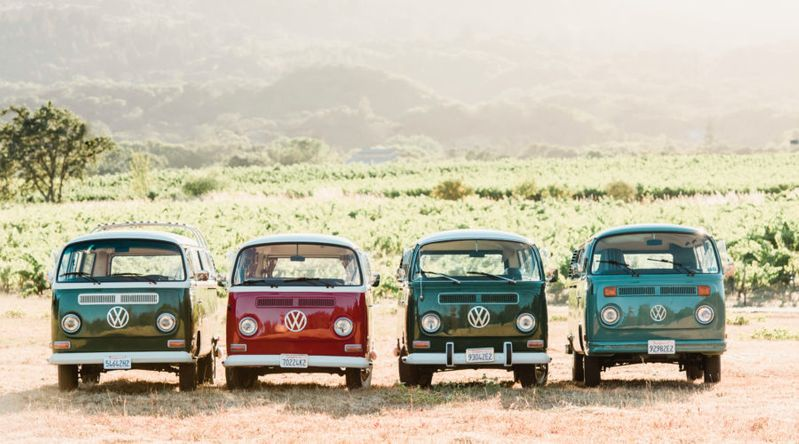 Winery Hopping in a Vintage VW