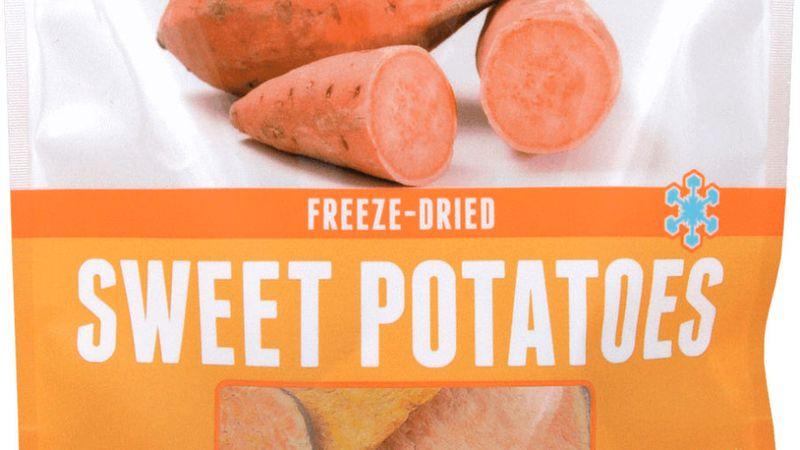 Grandma Lucy's Freeze-Dried Sweet Potatoes