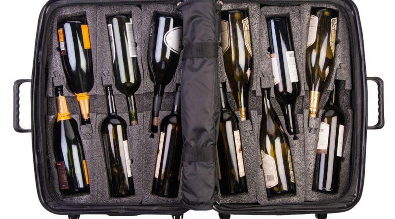 Wine Tasting Suitcase