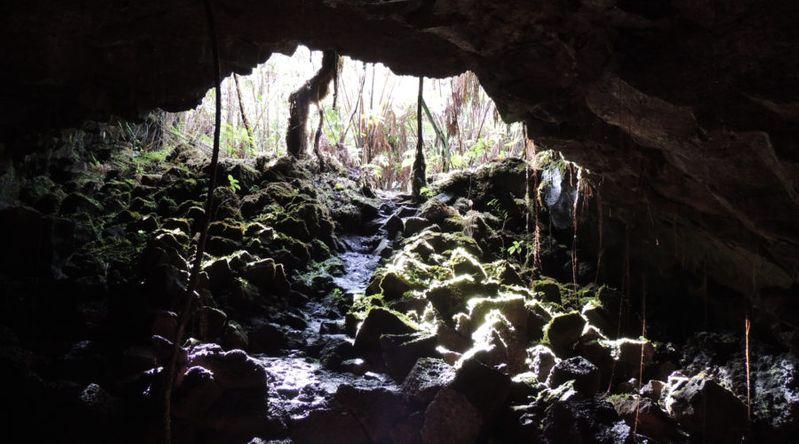 Kazumura Lava Tube, Big Island, HI