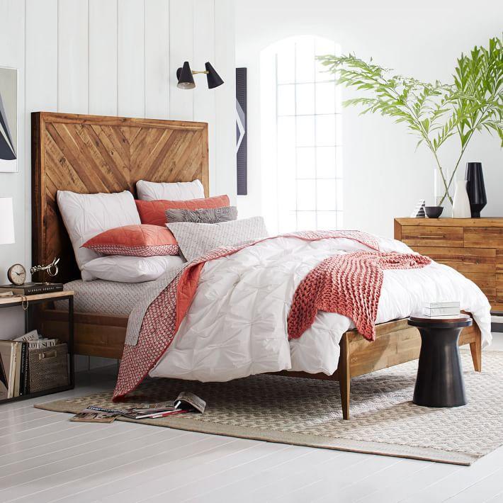 Reclaimed Pine Bed Frame
