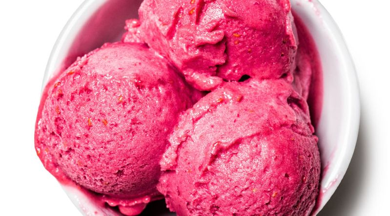 Oregon Wasabi & Raspberry Sorbet