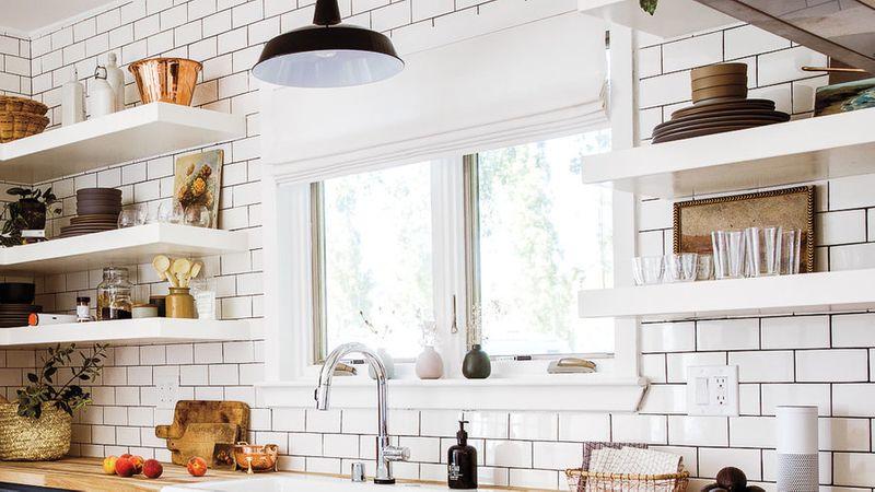 Kitchen Lighting Ideas Over Sink Roman Shades