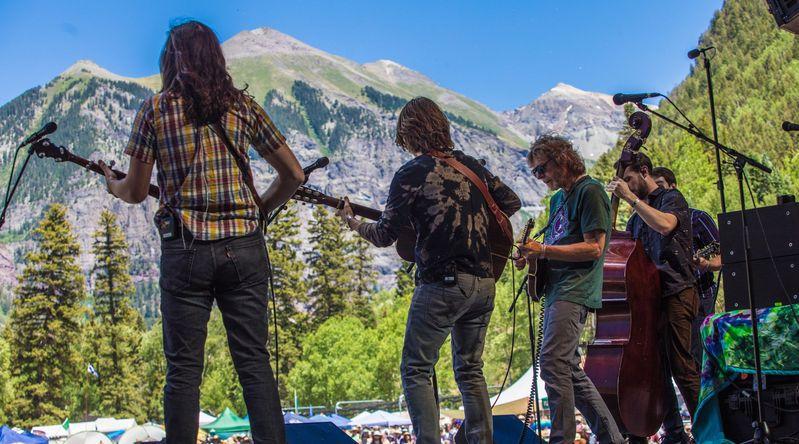 Music Festival: Telluride Bluegrass Festival (Telluride, CO)
